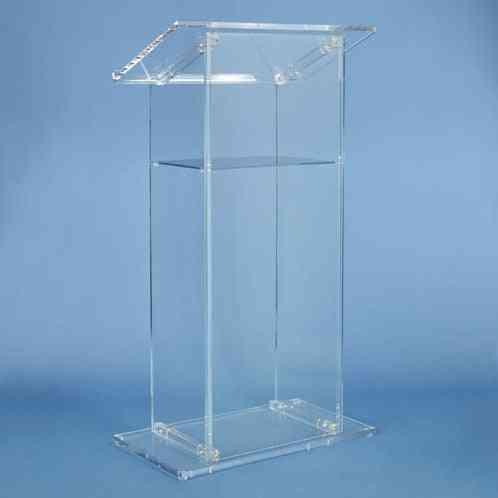 Beautifuls Cheap Acrylic Lecternacrylic Pulpit Plexiglass