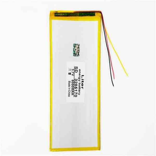 3.7v 6000mah, Li-ion Battery For Tablet
