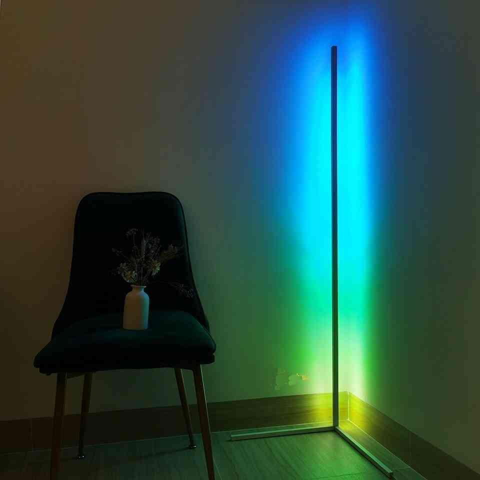 Rgb Touch, Led Floor Light & Indoor Decor, Standing Lamp Lighting