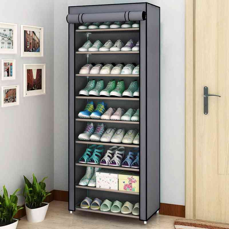 Multilayer Dustproof & Nonwoven Fabric, Cabinet Shoe Rack, Stand Holder