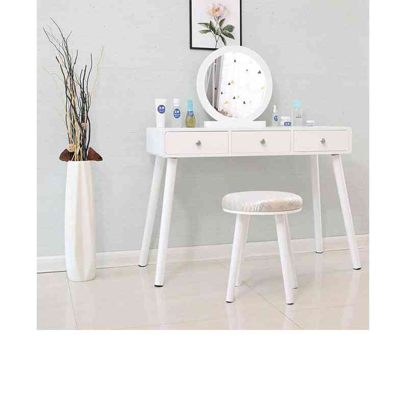 Dressing , Minimalist Bedroom Storage Cabinet & One Nordic Makeup / Home Mini Cosmetic Table