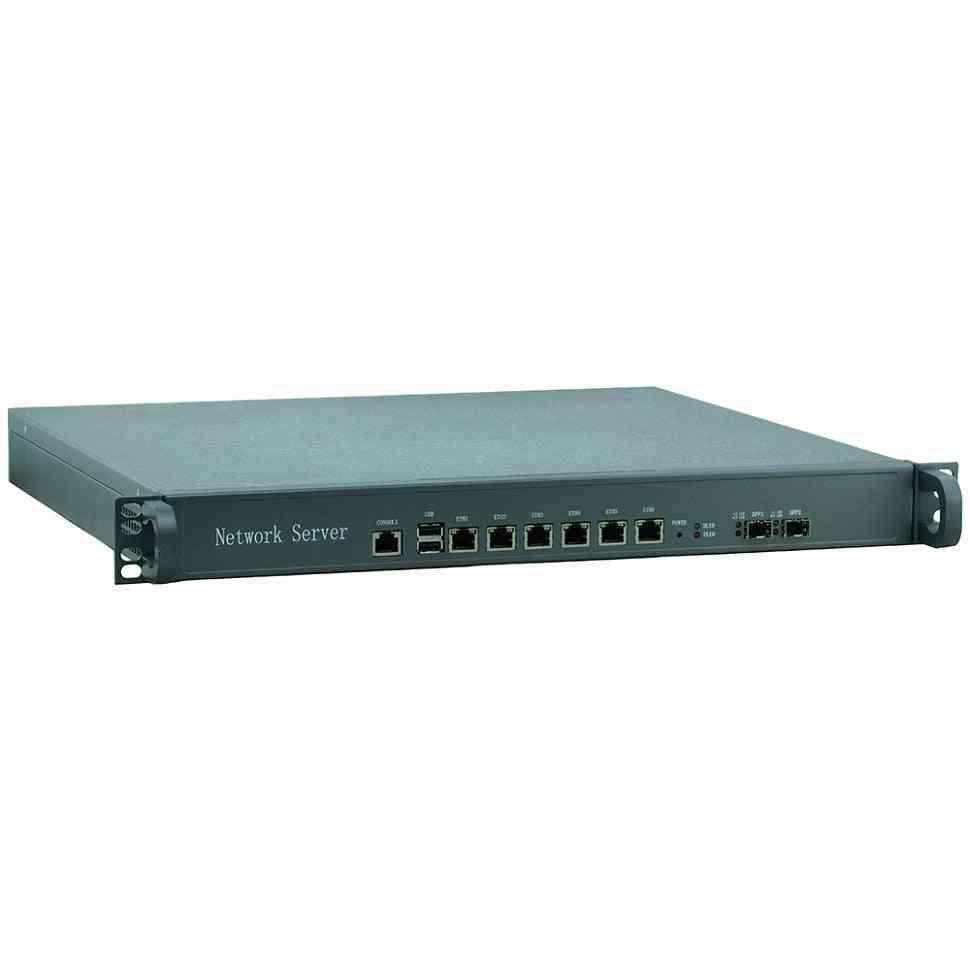 1u 6 Gigabit Ethernet Port Atx Power Support Intel Lga1155 I5 3470 Processor Network Router