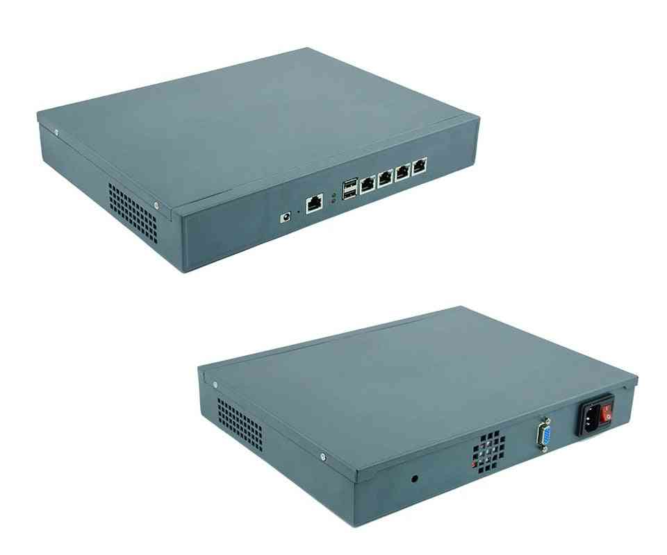 1u Vpn Firewall Appliance F2 For 4 Lan Support Intel Celeron J1900 Processor Server Network Router 2gb Ram 8gb Ssd