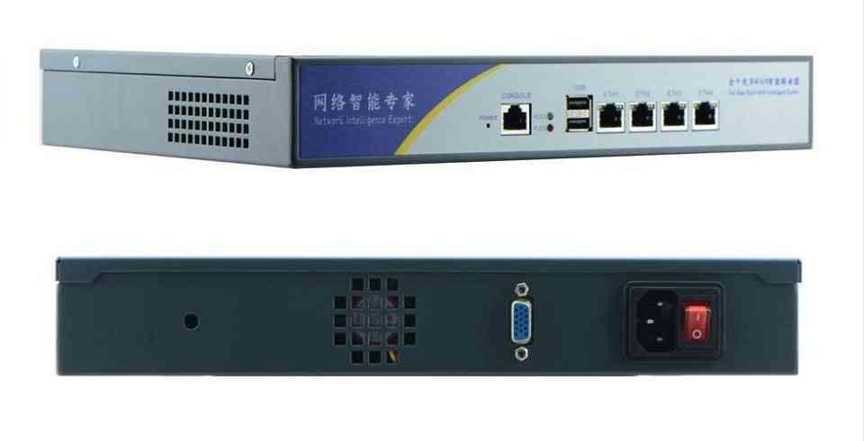 Server Mini Pc With 4 Lan Firewall Pfsense,l Onboard D2550 4*82583v Lan Desktop Network