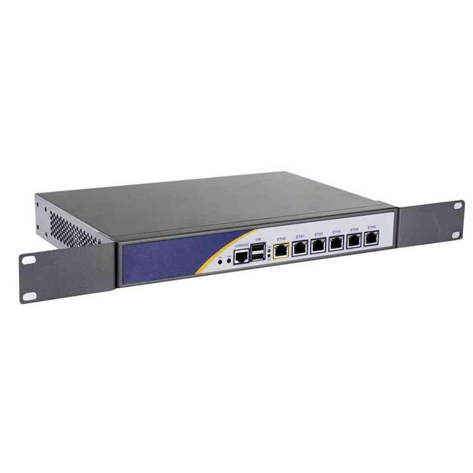 Server With Celeron 2117u 1037u Low-power Cpu Support Ros Mikrotik Pfsense Panabit Wayos 2g Ram 32gb Ssd