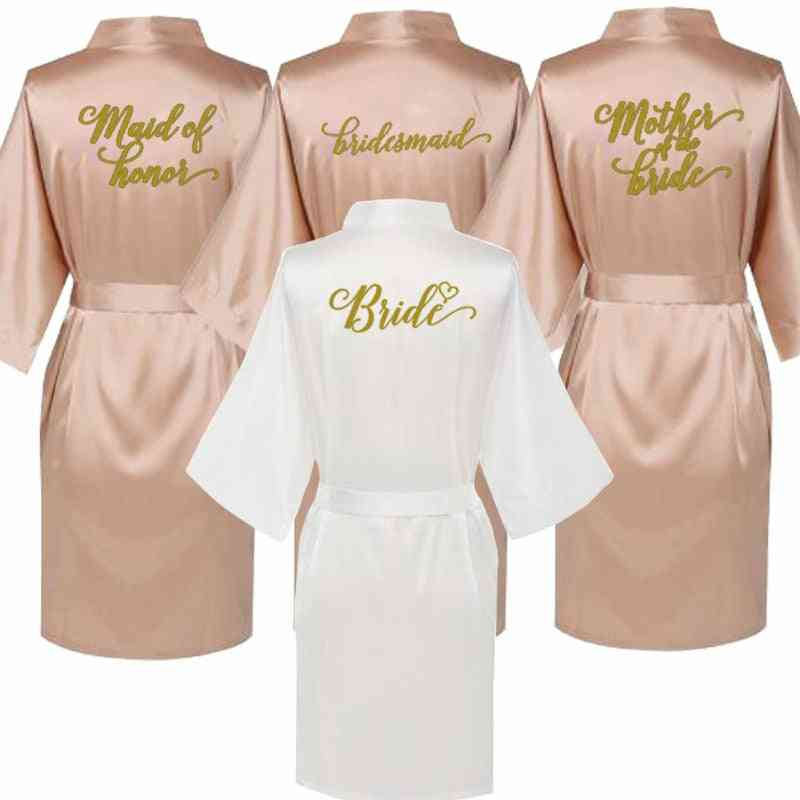 Bathrobe For Bride