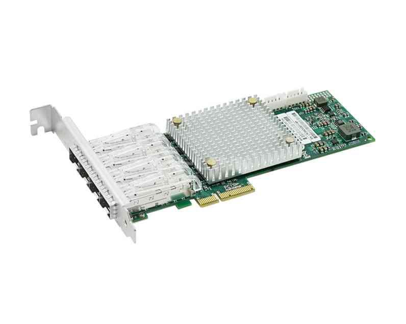 Lrec9054pf-4sfp Intel I350 Basedpcie X4 100fx Quad Sfp Port Fiber Ethernet Network Adapter