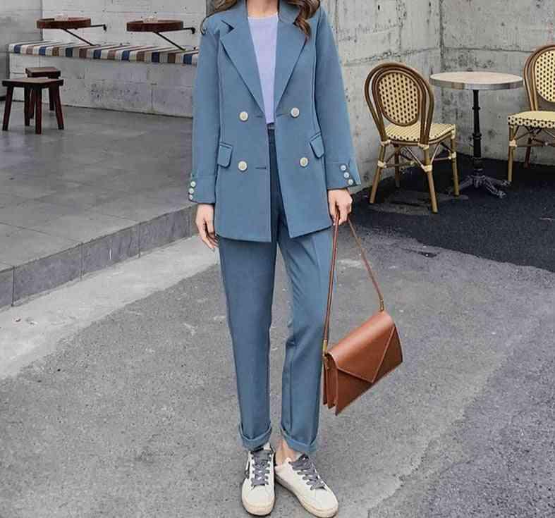 Long Sleeve Blazer Suits