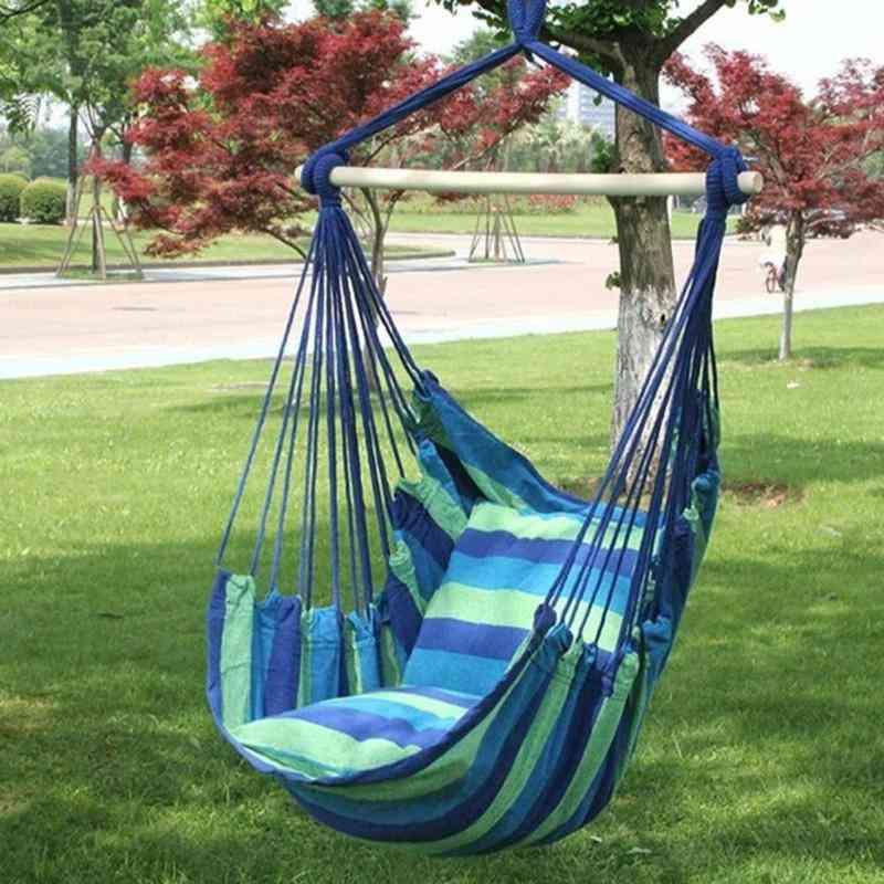 Portable Hammock Outdoor Hammock Garden Sports Home Travel Camping Swing Bed