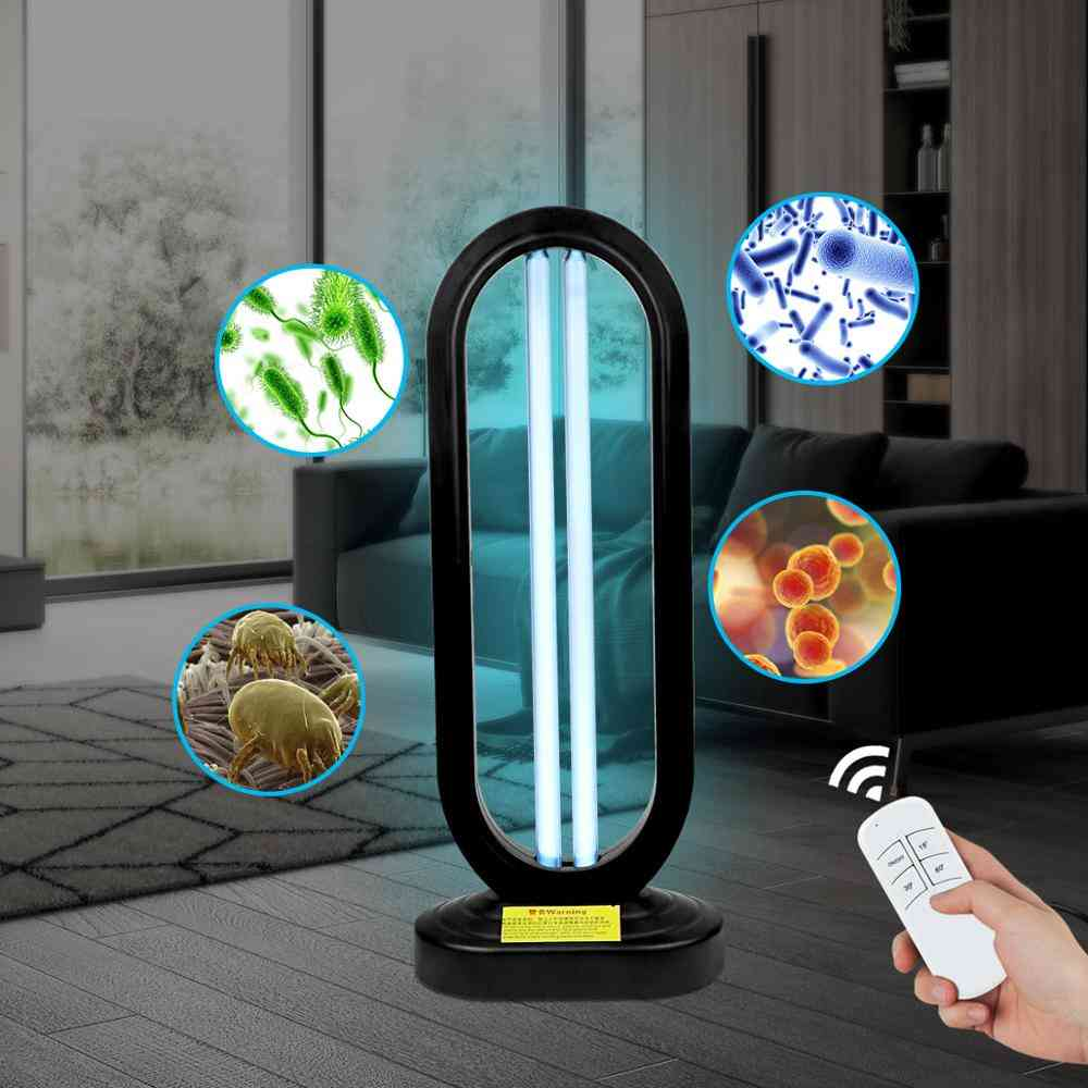 110v Us Plug Ozone Uv Light Desinfect Lamp Sterization