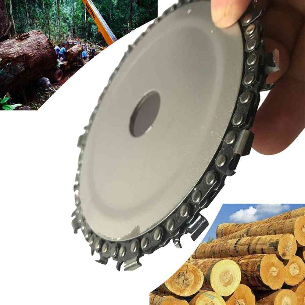 Wood Carving Disc Chain Grinder Chain Saw