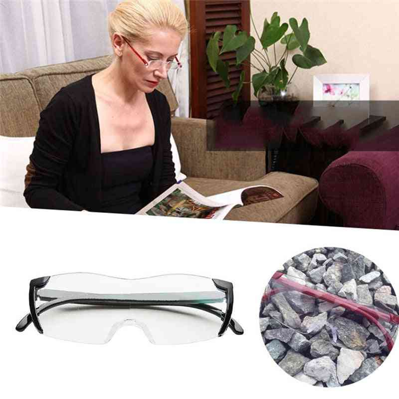 250 Degree Eyewear Presbyopic Lupa Spectacles Magnifying Glasses (black)