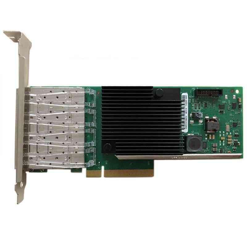 4-port & 10-gigabit, Ethernet Network Card, Converged Server Adapter