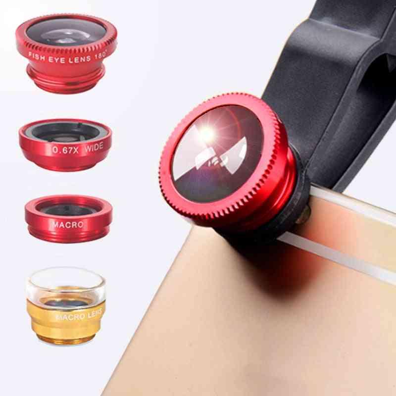 Macro Lens Kit For Smartphones