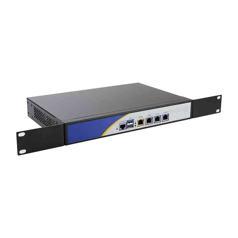 R12 Firewall Vpn Network Security Appliance Intel N3540 Router Pc With 4 Intel Gigabit Lan 2*usb 1*com 1*vga