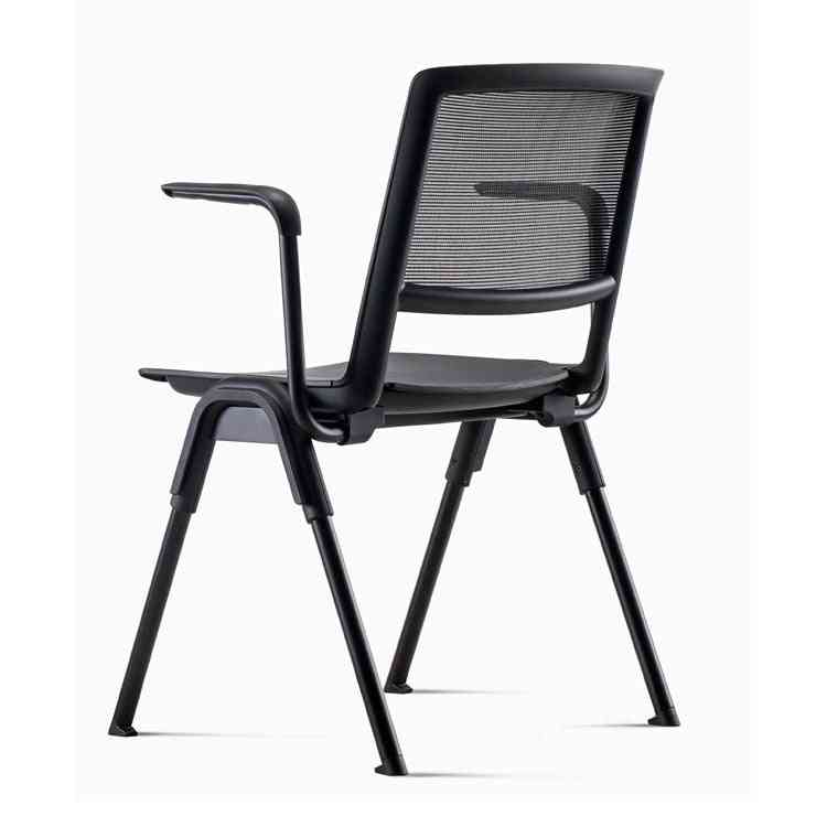 Training Chair With Writing Board Foldable Conference Room Chair