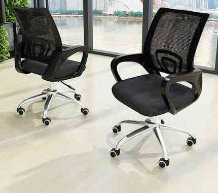 Fashion Office Chair Computer Back Net Bow Shaped Staff Modern Simple Chair