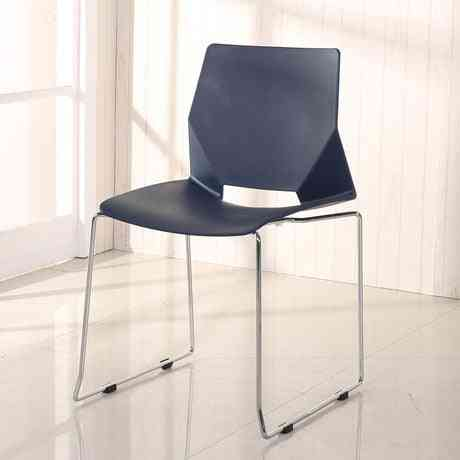 Conference, Commercial, Office Furniture Plastic Stainless Steel Minimalist Computer Chair