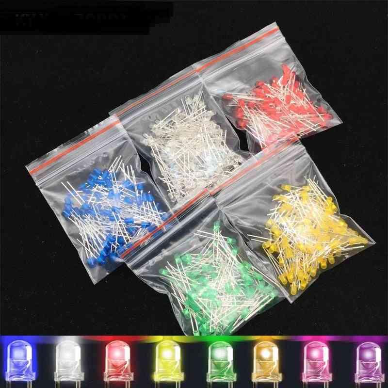 3mm Led Diode Assorted Kit Diy Emitting For Decoration Lights