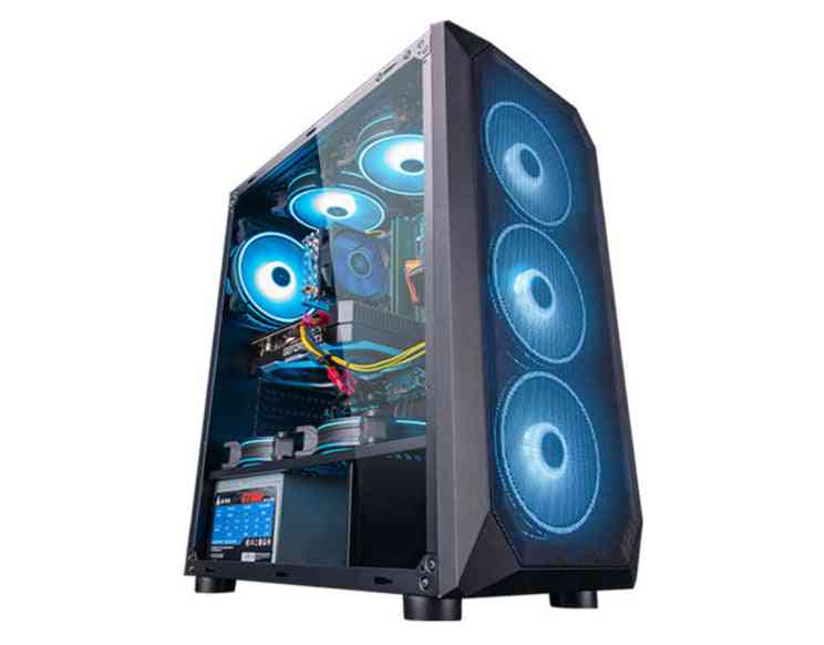 Desktop Computer Intel Xeon E5-2650l 8-core/rx560/gtx960 4g/16g Ram 240g Ssd Cheap Gaming Pc