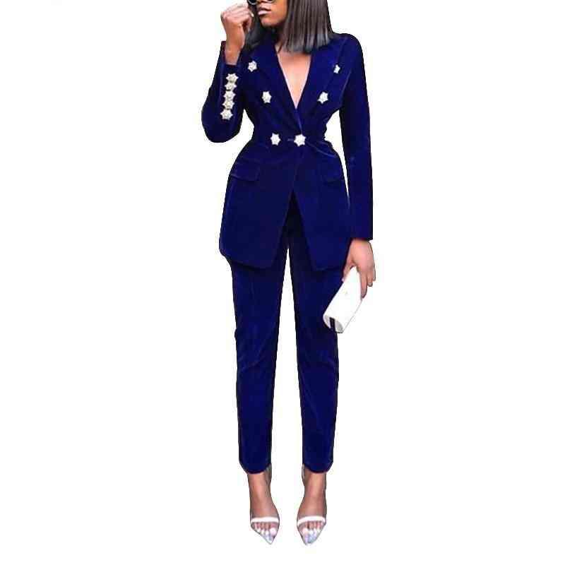 Full Sleeve Blazers & Pants Suit
