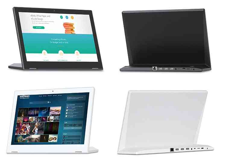 13.3 Inch Android Touch Screen All In One Desktop Pc