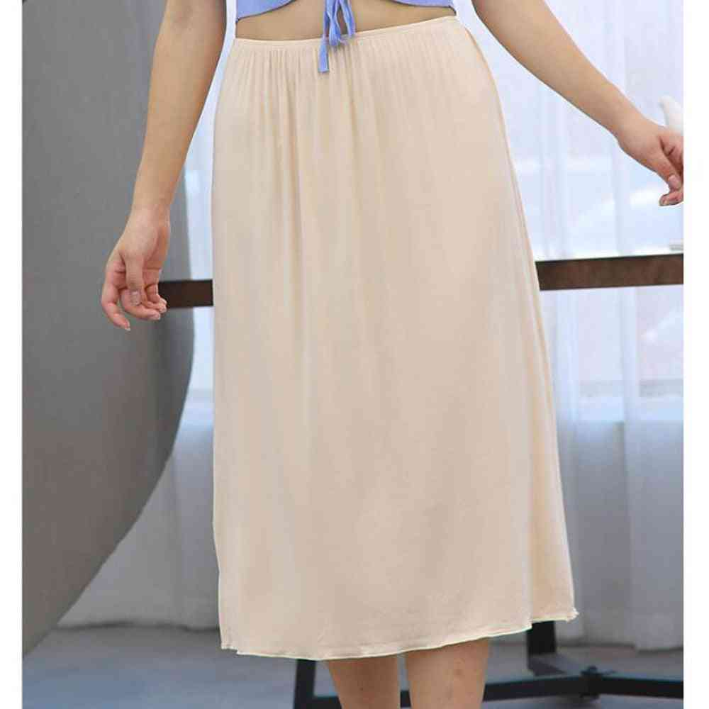 Half Slip Skirt, Jupe Femme Summer Intimates, Soft Petticoat Under Dress