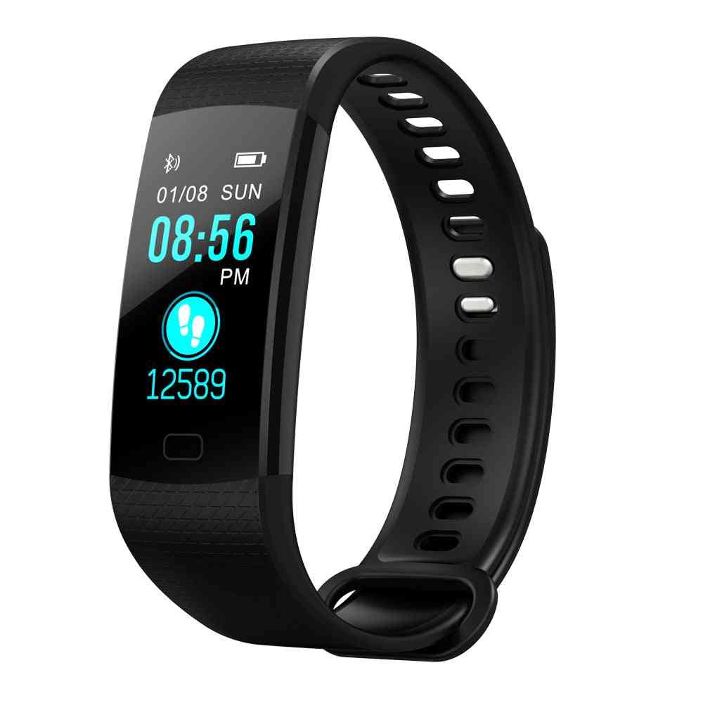 Time Owner Smart Band Heart Rate Blood Pressure Monitor (add 1 Blue Strap)
