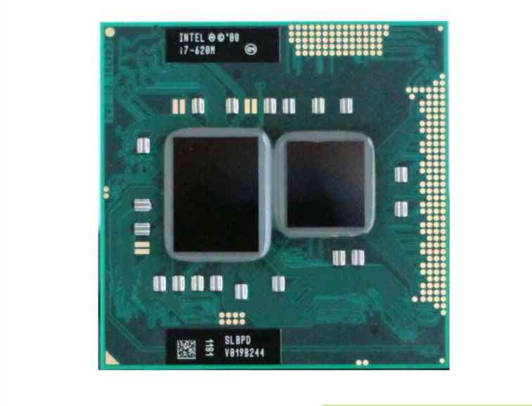 Intel Core I7 620m 2.66ghz 4m Socket G1 Laptop Processor Cpu