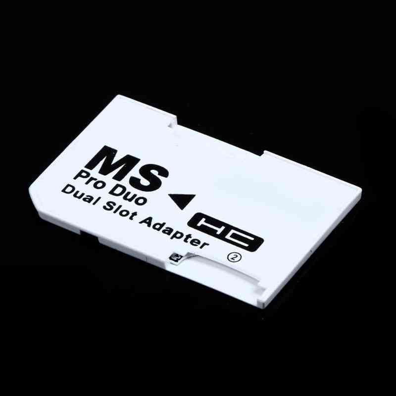 Micro Sd Tf Flash Card To Memory Stick, Ms Pro Duo For Psp Card-slot Adapter