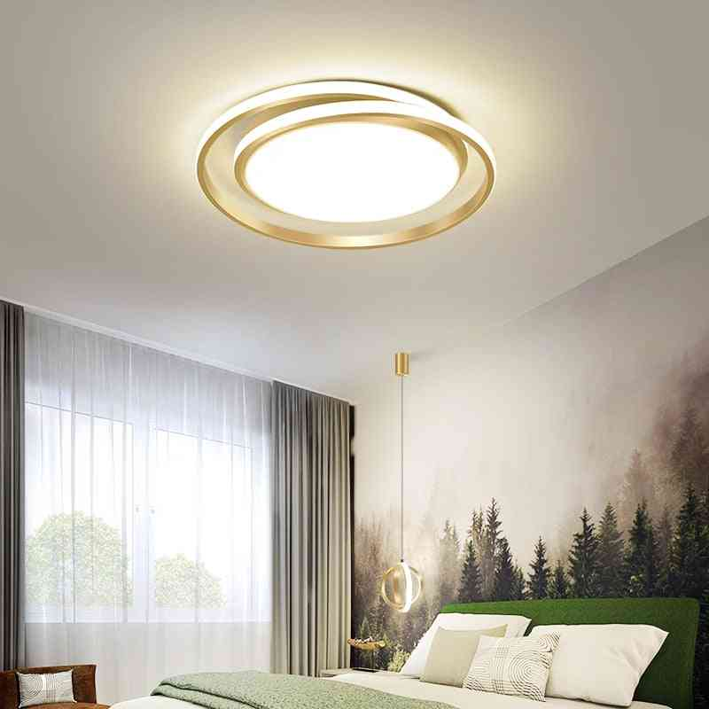 Round Led Chandeliers Lamps