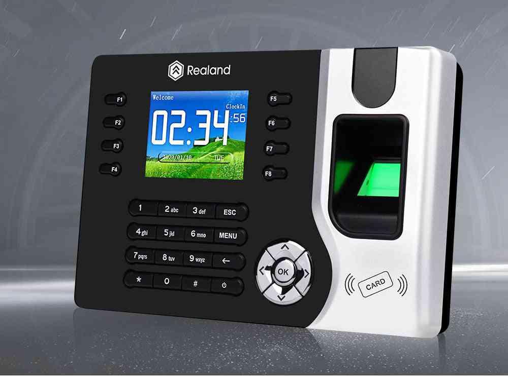 Biometric Tcp/ip Fingerprint Time Attendance Machine, Rfid Employee Check-in Recorder