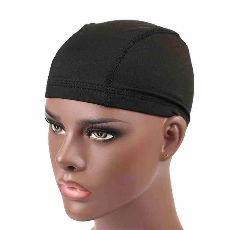 Spandex Seamless Dome Cap, Stretchy Headwear, Turban Hat