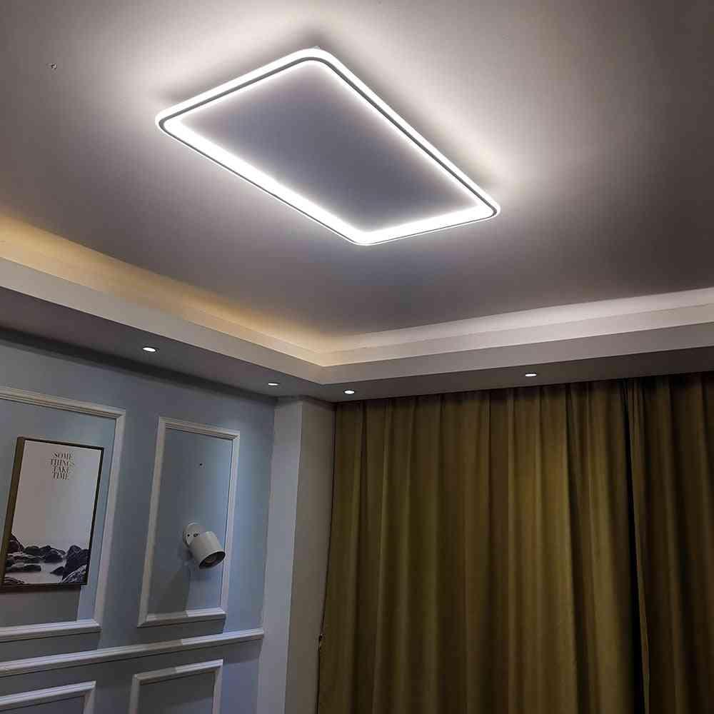 Gleam Modern, Led Ultra-thin, Chandelier Ceiling Light For Living Room, Bedroom
