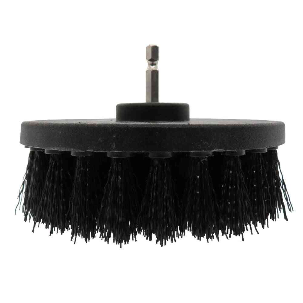 Soft Plastic Drill Brush, Attachment For Cleaning Carpet, Leather And Upholstery Sofa, Wooden Furniture