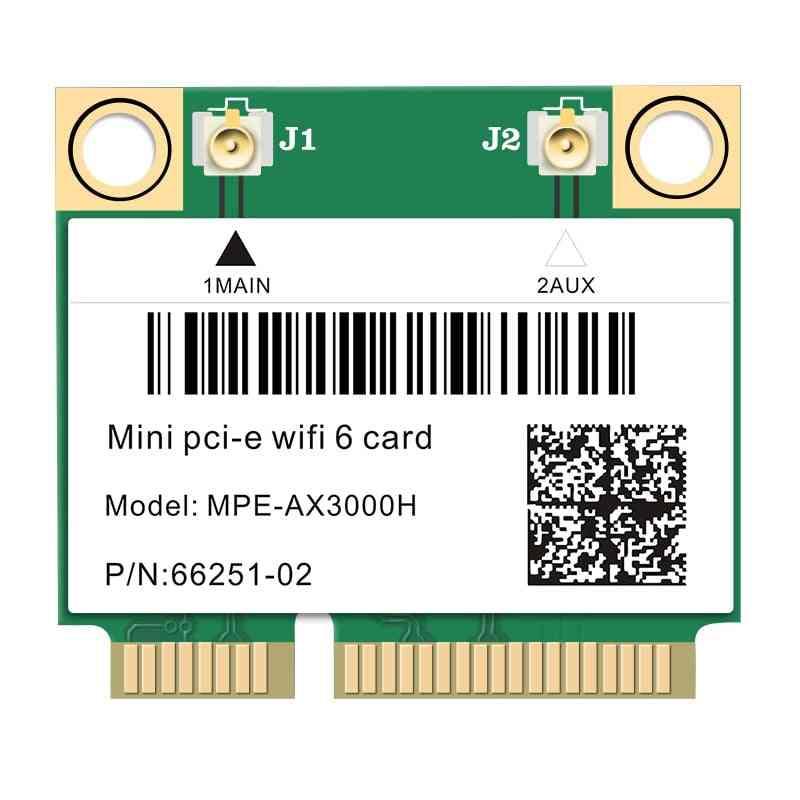 6-dual Band, Bluetooth 5.0, Wireless Half Mini, Pci-e Network Wlan, Wifi Card