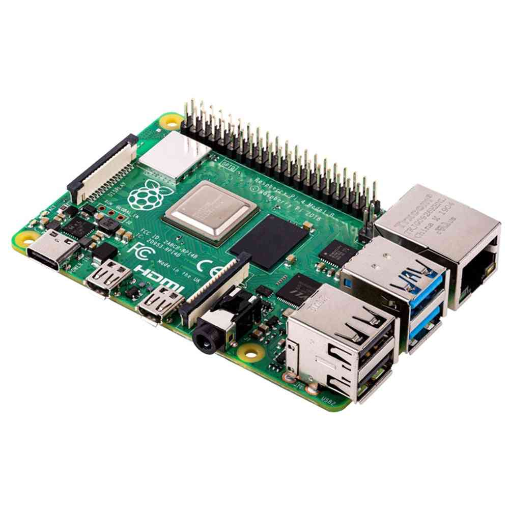 Raspberry Pi-4, Development Board, Support Wifi, Bluetooth 5.0