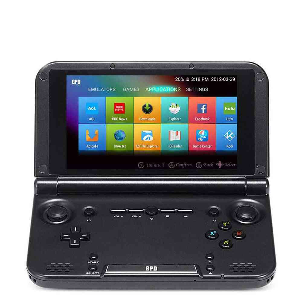 Handhend Game Player Android Touch Screen 5 Inch 4gb Tablet (black)
