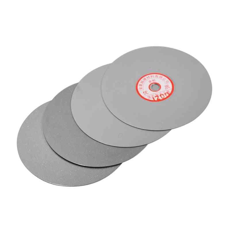4pcs Diamond Polishing Flat Lap Grinding Wheel Lapping Grinding Disc