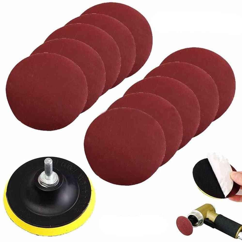 10pcs Mayitr Durable Sanding Disc For Polishing