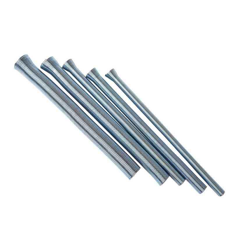 5pcs Spring Tube Benders For Copper Aluminum Thin Wall Steel