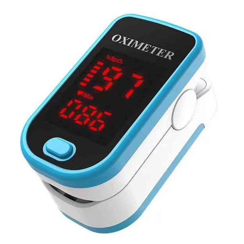 Digital Finger Pulse Oximeter Oled Blood Oxygen Heart Rate Health Diagnostic Monitor Tool