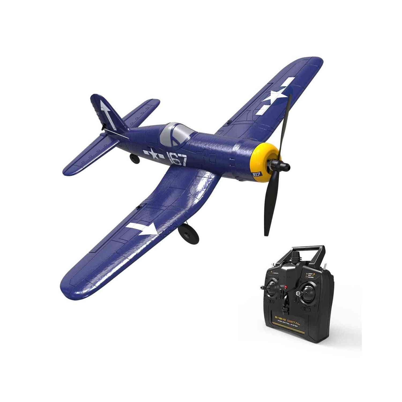 Volantex Corsair F4u 4ch Warbird Rc Plane With X Pilot Stabilizer