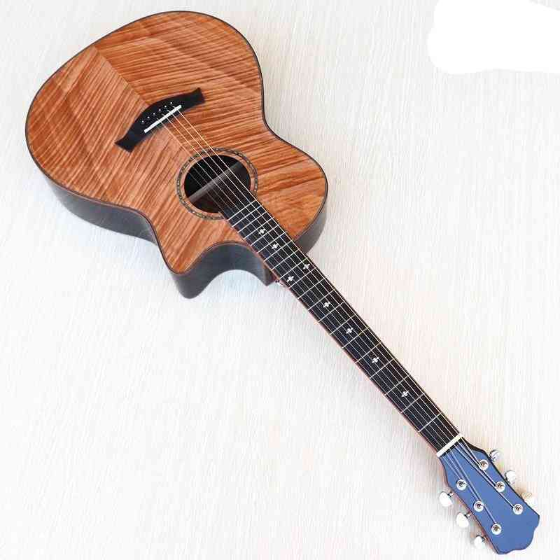High Grade Flame Maple Design Electric Acoustic Guitar