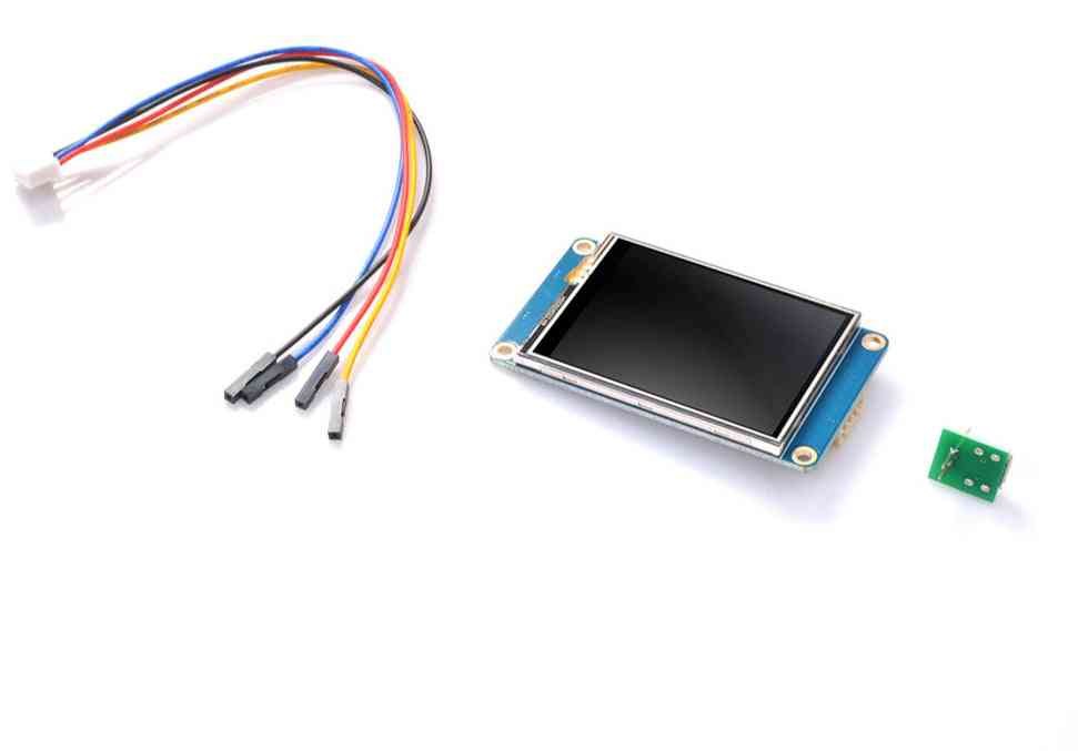 Nextion Nx3224t024 - 2.4'' Full-color Hmi Intelligent Lcd Resistive Touch Display Module Easy To Operate