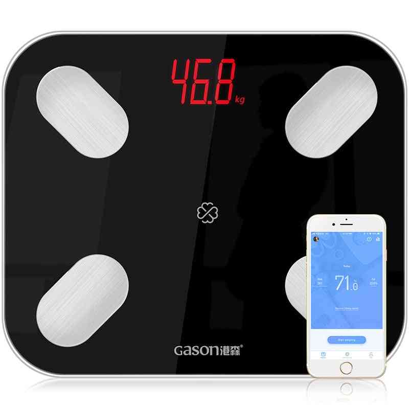 Smart Electronic Led Digital Weight Balance, Bluetooth App Android Or Ios