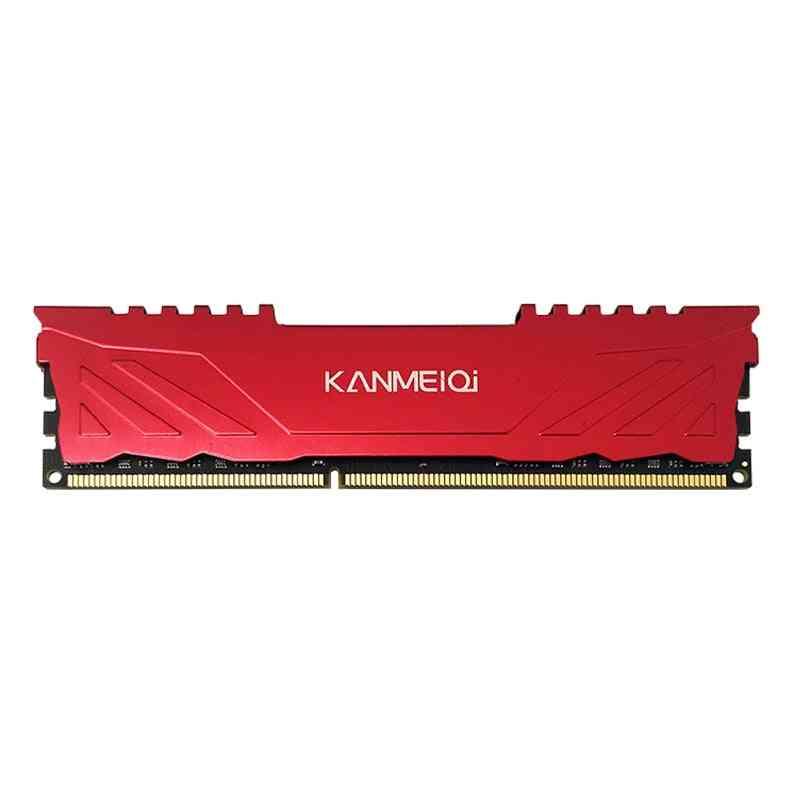 Ram Ddr3- Desktop Memory With Heat Sink, 240-pin Compatible Intel/amd