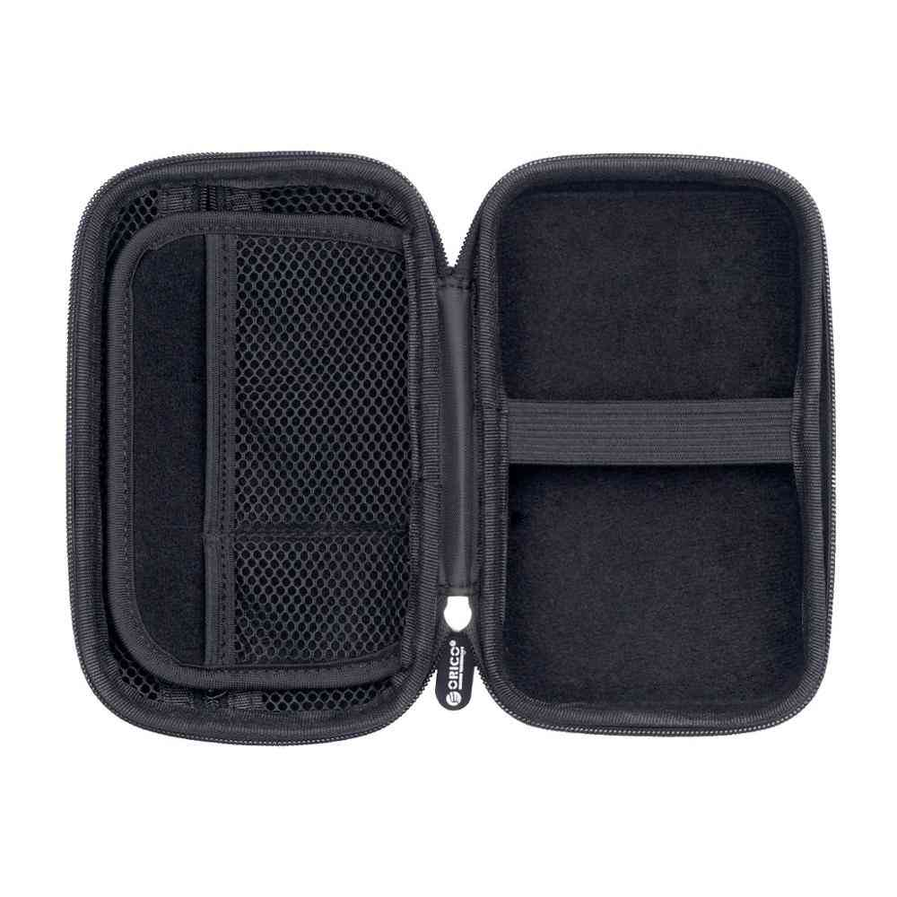 External Storage Hard Case For Hdd, Power Bank, Usb Cable