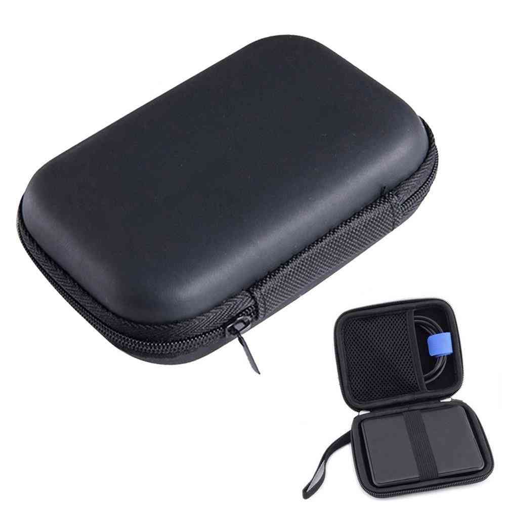 Portable Hdd, Tf/sd Card Storage Bag For External 2.5