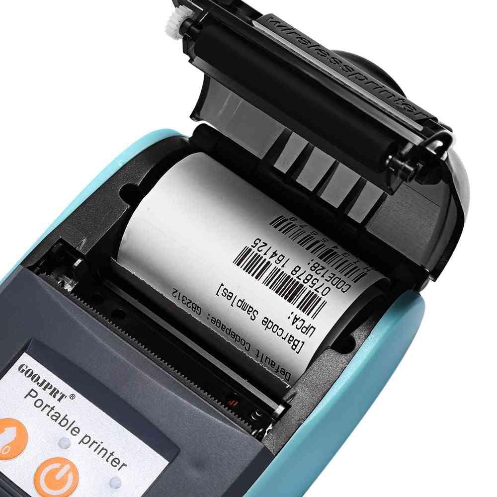 Mini Bluetooth Wireless Thermal Receipt Ticket Printer Bill Machine For Store